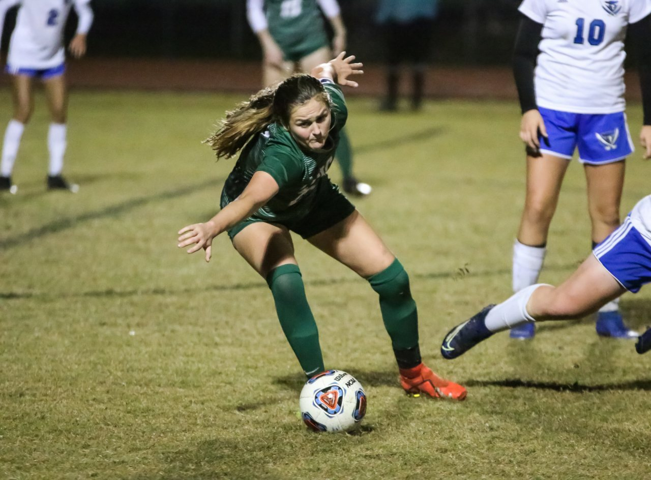 Former Matanzas player Mary Pickett scored FPC's final goal of the night.